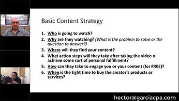 Hector Garcia CPA YouTube Audit