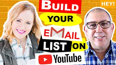 How To Build An Email List With YouTube