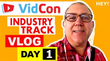 VidCon Industry Track Vlog - Day 1