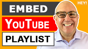 How To Embed A YouTube Playlist On A Website
