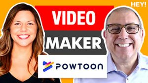 How To Easily Make YouTube Marketing Videos With Renee Teeley Of PowToon - HEY.com Podcast #12