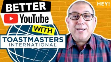 How To Get Comfortable On Camera With Toastmasters