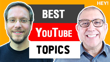 How To Match A Topic With Your YouTube Channel With Nico Kamenzky of Morningfame  – HEY.com Podcast #14