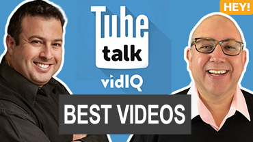 VidIQ TubeTalk Podcast Liron Segev Dane Golden May 2019