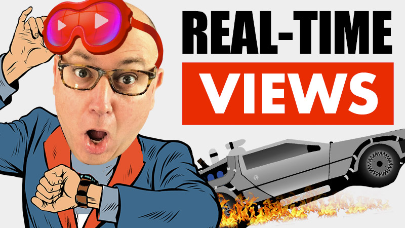 YouTube Real-Time Views