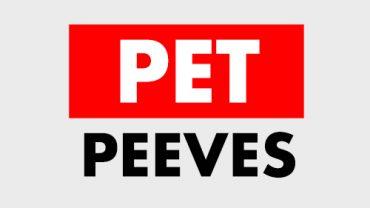 Video Marketing Pet Peeves