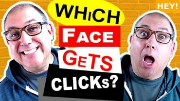 which faces make the best thumbnails